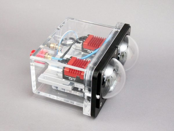 Stereo Underwater Vision System