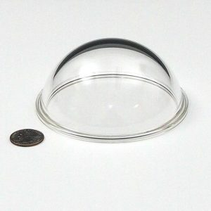 """Acrylic 4.5"""" Dome Port (with flange)"""