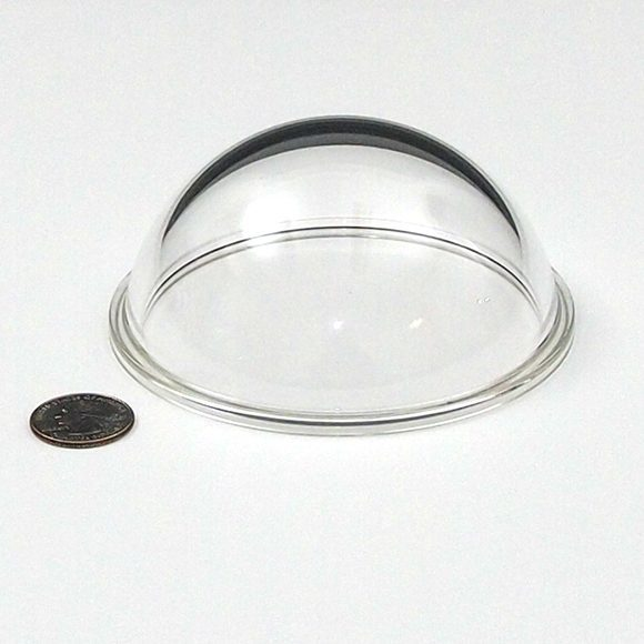 "Acrylic 4.5"" Dome Port (with flange)"