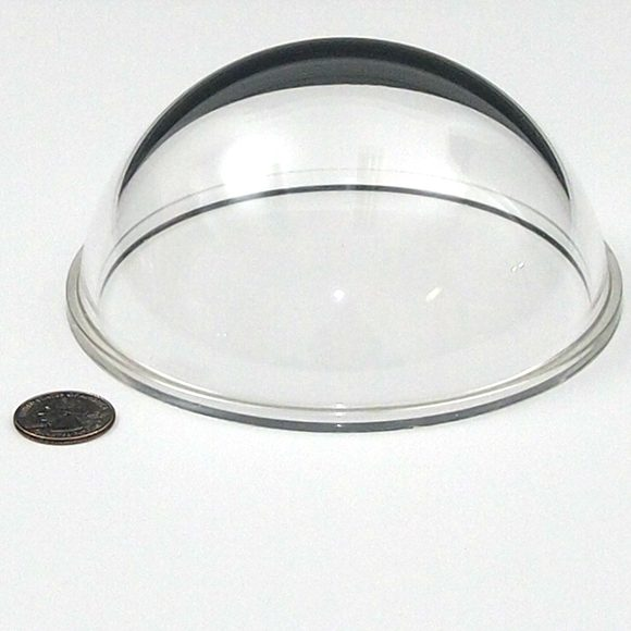 "Acrylic 5.3"" Dome Port (with flange)"